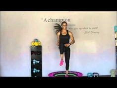 AChamp's Bellicon Beginners Rebounding Workout - YouTube