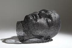 Meditation 13, Iron chain, 100x90x110cm, 2013