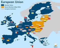 nice European Union Map