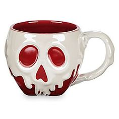 Poisoned Apple Sculptured Mug - Snow White and the Seven Dwarfs | Disney Store Sip your caffeine drip from this fully sculptured, just-dipped Poisoned Apple Mug, freshly cursed by the Evil Queen. Drink up . . . we dare you.