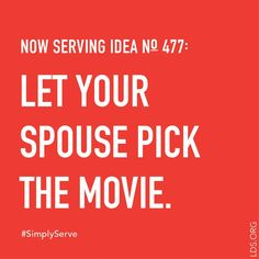 Find a simple way to serve. #SimplyServe