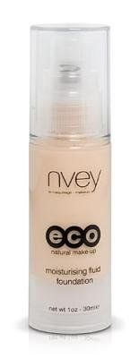 Nvey Eco Organic Moisturising Liquid Foundation 1 oz., as close to natural (ingredients) as possible