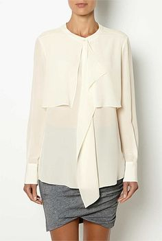 OCRF White Shirts - OCRF Frill Front Shirt