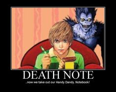 Death Note meets Blue's Clues