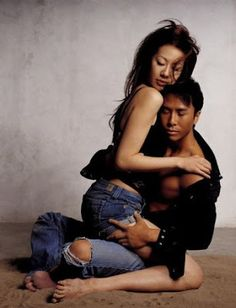 Donnie Yen Wife | New Kung-fu King Donnie Yen and Wife Photoshoot