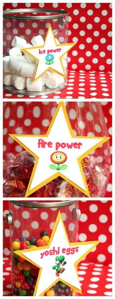These 19 Awesome Super Mario Birthday Party Ideas will help you bring this game to life with fun ideas for desserts, decorations, games, and more! Mario Party Games, Wii Party, Nintendo Party, Geek Party, Super Mario Birthday, Mario Birthday Party, Super Mario Party, 6th Birthday Parties, Super Mario Bros