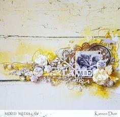 "Mixed Media & Art: ""La vie est belle"" by Kareen Dion"