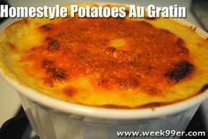 Gluten Free Au Gratin Potatoes #recipes