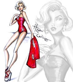 Marilyn Monroe - Hayden Williams Illustrations
