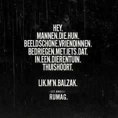 Bedriegen #rumag