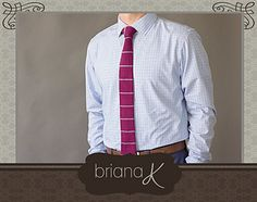 Kingston Knit Tie Pattern by Briana K