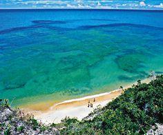 Praia do Espelho, Bahia - Brazil (literally: Mirror Beach, close to Trancoso Beach)