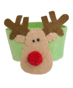 Take a look at this tag Merry Moose Felt Napkin Ring - Set of Six by Festive Entertaining Collection on #zulily today!