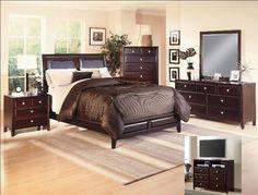 Claret Queen Bedroom Set