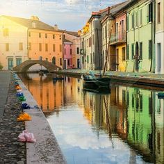 In love with Comacchio   Italy