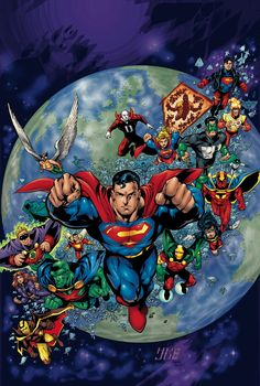 JLA VOL. 4 TP Written by GRANT MORRISON, MARK WAID and D. CURTIS JOHNSON Art by HOWARD PORTER, MARK PAJARILLO and others Cover by HOWARD POR...