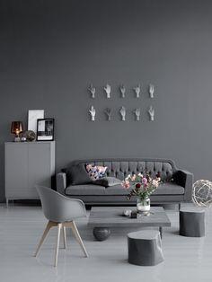 Tikkurila Feelings Interior Paint is the highest quality paint for interior walls. Interior Walls, Interior And Exterior, Interior Design, Inspiration Wall, Interior Inspiration, Room Colors, House Colors, Open Plan Kitchen Living Room, Scandinavian Interior