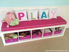 the cul-de-sac: Playroom in Progress