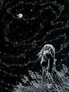 danceabletragedy:    Summer night by AkagenoSaru