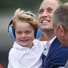 How do you celebrate your ALMOST third birthday? Well, if you're Prince George, the second-to-youngest member of the royal family, you...