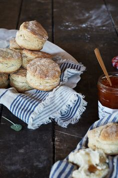 Permission to eat buttermilk biscuits for breakfast: granted! Crank up the oven and get the recipe for this honey-sage batch, now on the #AnthroBlog #Anthropologie
