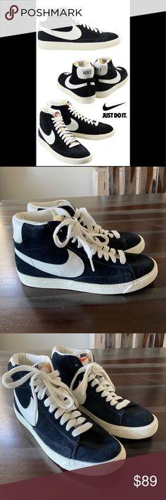 Nike Blazer Mid 09 PRM Herren Sneaker High schwarz weiß