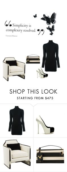 """Simple Simplicity Is So Under Rated"" by kimberlydalessandro ❤ liked on Polyvore featuring Dsquared2, Yves Saint Laurent and Valentino"