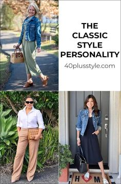 Classic style personality - A style guide and capsule wardrobe Simple Style, Classic Style, Cool Style, My Style, Soft Classic, Casual Work Outfits, Preppy Outfits, Fashion Outfits, Work Wardrobe Essentials