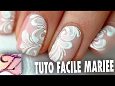 Tuto nail art abstrait de fêtes, facile et personnalisable - YouTube