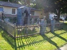 halloween yard decor halloween graveyard halloween cemetery cemetery - Halloween Cemetery Decorations