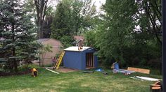 5/30/15 Shed Day!
