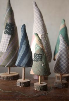 FREE woebegone pines first Christmas trees pattern w/instructions & supplies list