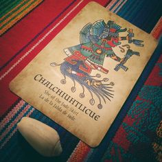 Chalchiuhtlicue awaits and welcomes you as you begin anew. Learn more about her and other ancient Mexican deities with the Jade Oracle deck. Help us bring them to life with our Kickstarter!