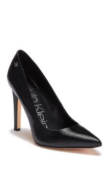 151d2a3ca01 Calvin Klein - Brady Liquid Smooth Patent Pump