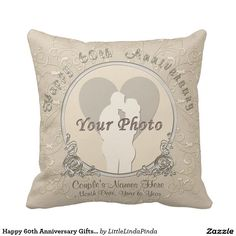 60th Wedding Anniversary Gift Basket : Customizable Photo and Names 60th Anniversary Gift Ideas. CALL Linda ...