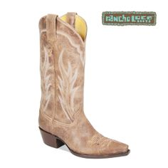 Rancho Loco Caliche Boots, $350 - All-Leather Cowboy Boots - Handmade Cowboy Boots