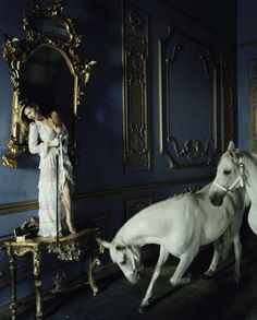 Vogue Italia December 2015 - Kate Moss - Tim Walker