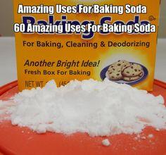 60 Amazing Uses For Baking Soda