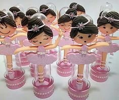 lembrancinhas de bailarinas no tubete Tutu Birthday Cake, Ballerina Birthday, Happy Birthday, Fondant Figures, Girl Shower, Biscuits, Craft Projects, Birthdays, Diy Crafts