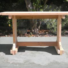Build a table for $10 or less! Pinning this for everyone who rents or borrows tables for outdoor entertaining. This is so much cuter, or at least it could be if painted/stained well. And on a $10 table, you can go nutso and do something exciting like spraypaint lace designs on it, or cover the top with pennies (two pins I found today). Have fun!
