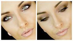 Mila Kunis Inspired Brown Smokey Eye Makeup Tutorial ♡ Naked 2 Palette