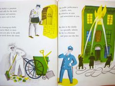 (Roger Duvoisin)「DADDIES what they do all day」1966