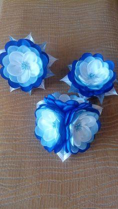 Украшения в технике КАНЗАШИ****** Заколки, броши, ободочки и просто красивые цветы
