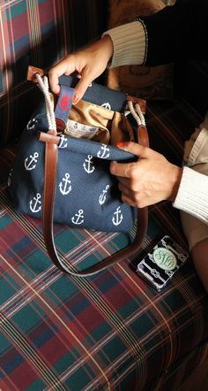 Kiel James Patrick - Wellfleet Anchorage Bag @Jacqueline Keller