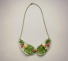 vestida de domingo shop: collares ganchillo