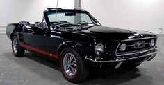 Truly Unique Convertible 1967 Ford Mustang K-Code