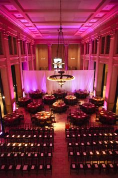 From WIPA event: Pink lighting at #Bently Reserve (#Bella Celebrations and #Lux Productions):
