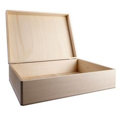 Make a personalized keepsake box, memory box or jewelry box for someone special. Decorate i...