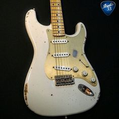 Happy #Straturday Here's a cool custom Strat from @iconic_custom_guitars #Studio33Guitar