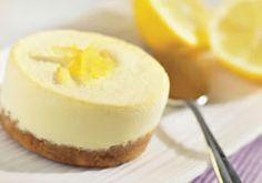 Pastel de yogurt y limón